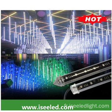DMX Clear RGB 3D tube vertical disco